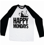 Camiseta manga longa Happy Mondays 189872
