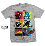 Camiseta Marvel Super heróis Marvel Montage