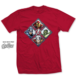 Camiseta Marvel Super-heróis Diamond Characters