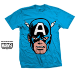 Camiseta Marvel Comics - Capt. America Big Head