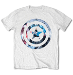 Camiseta Capitão América Captain America Knock-out