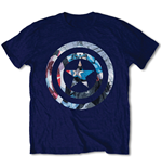 Camiseta Capitão América - Captain America Knock-out