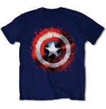 Camiseta Capitão América  Captain America Splat Shield