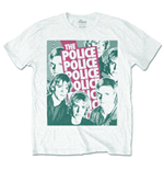 Camiseta The Police Half-tone Faces