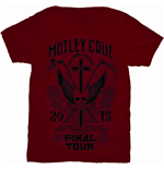 Camiseta Mötley Crüe Final Tour