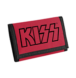 Cartera Kiss - Logo (Black On Red)