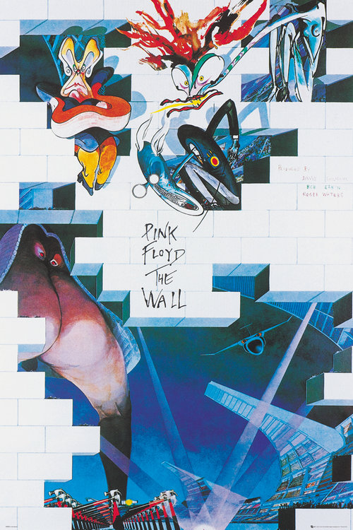 Póster Pink Floyd The Wall