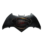Batman v Superman Dawn of Justice Chaveiro borracha Logo 7 cm