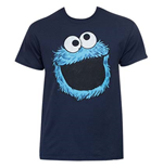 Camiseta Barrio Sésamo Cookie Monster Face