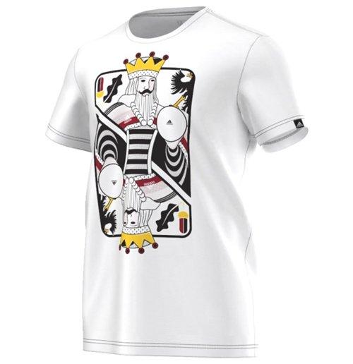 Compra Camiseta Alemanha 2016-2017 Adidas Card (branca) Original 69290a3af2256