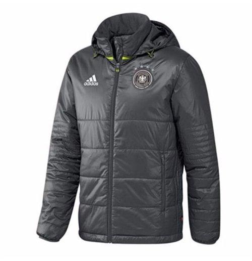 04a238fa65916 Compra Jaqueta de inverno Alemanha 2016-2017 Adidas (cinza escura)