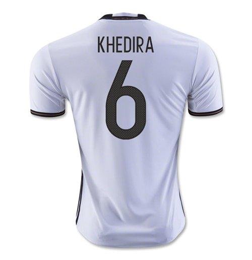 Compra Camiseta Alemanha 2016 2017 Home (Khedira 6) de criança ec723c3b49621
