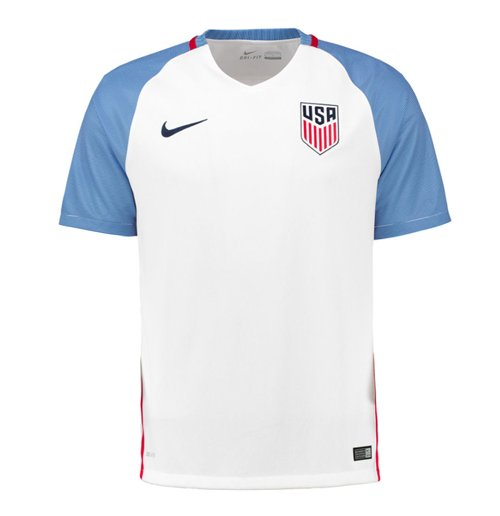 b0fb59883f5b6 Compra Camiseta USA 2016-2017 Home Nike de criança Original
