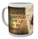 Caneca Harry Potter - Marauders Map
