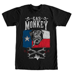Camiseta Gas Monkey Garage Lone Star Black
