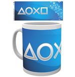 Caneca PlayStation - Silver Buttons