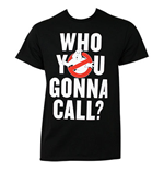 Camiseta Os Caçafantasmas Who You Gonna Call