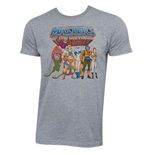 Camiseta He-Man Masters Of The Universe - Characters Logo