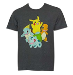 Camiseta Pokémon Pikachu and Friends