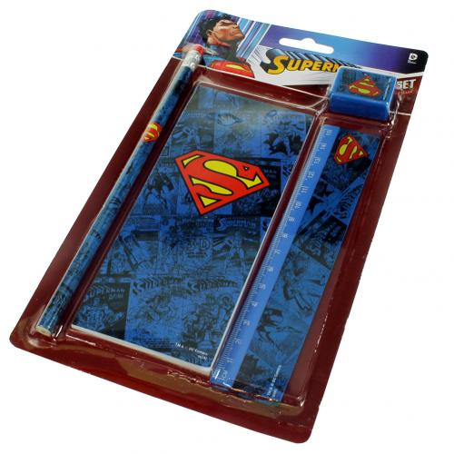 Set Papelaria Superman