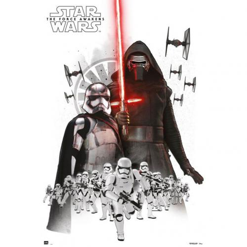 Póster Star Wars The Force Awakens Empire 207