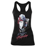 Camiseta de Suspensórios Suicide Squad DADDY'S Little Monster