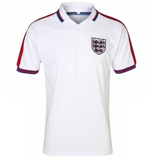 Camiseta Retro Inglaterra 1976 Home Original  Compra Online em Oferta 5ec12a9089e49