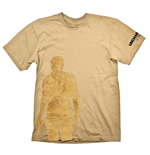 Camiseta Uncharted 4: A Thief's End Nathan Drake Map - S