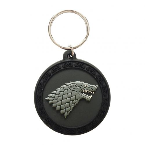 Chaveiro Jogo do Poder Soberano (Game of Thrones) Stark