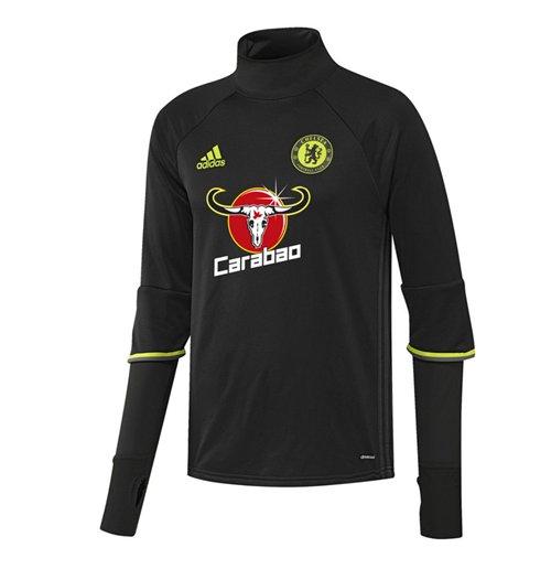 2c470bdc32 Compra Camiseta manga comprida Chelsea 2016-2017 (Preto) Original
