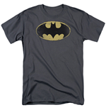 Camiseta Batman Distressed Sheild Logo