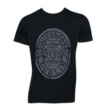 Camiseta Guinness Distressed Black Label