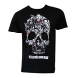 Camiseta The Walking Dead Skull Logo