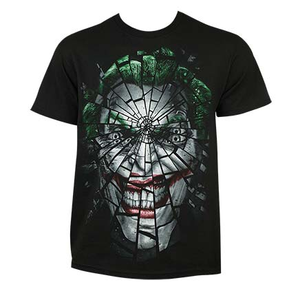 Camiseta Joker Shattered Face