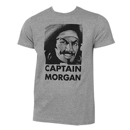 Camiseta Captain Morgan Face Logo