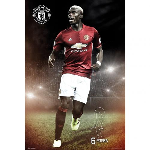 Póster Manchester United FC Pogba 20