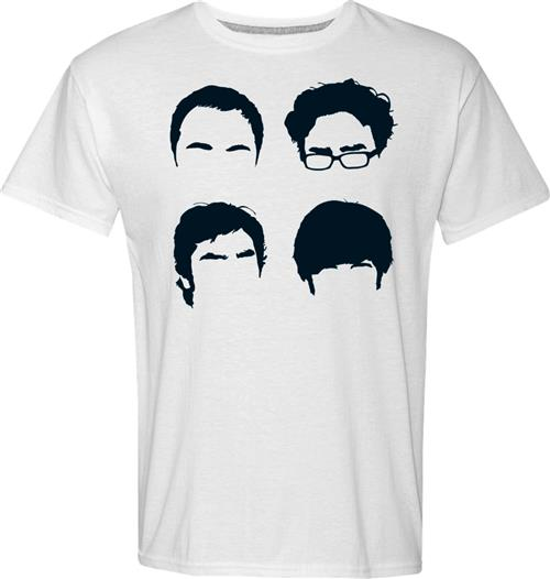 Camiseta Big Bang Theory Faces
