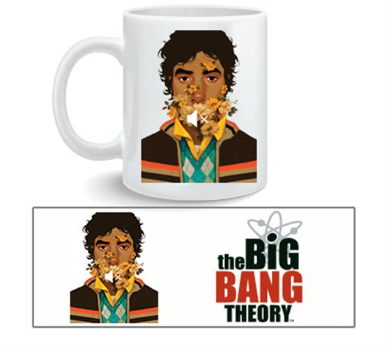 Caneca Big Bang Theory Raj Nosound