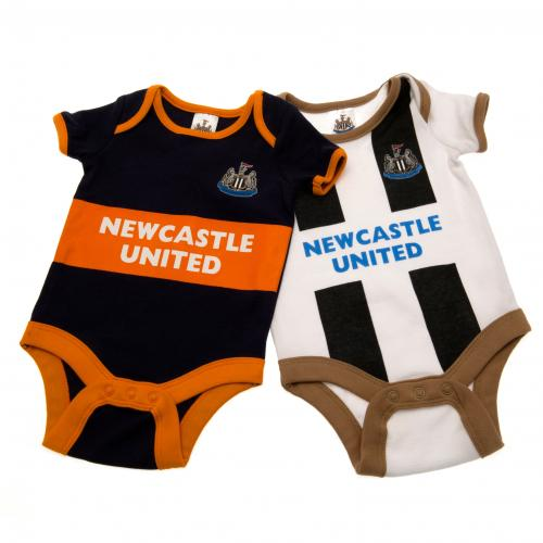 Pack Body de bebê Newcastle United Fc 6/9 meses