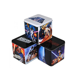 Pack 6 caixas de metal Star Wars - Empire, Jedi & Hope
