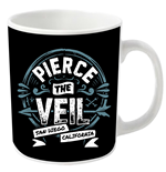 Caneca Pierce the Veil San Diego California