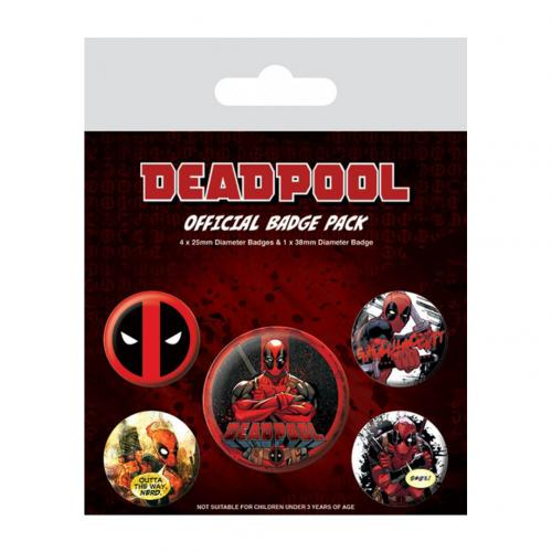 Pack Broches Deadpool