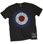 Camiseta The Who Target Distressed