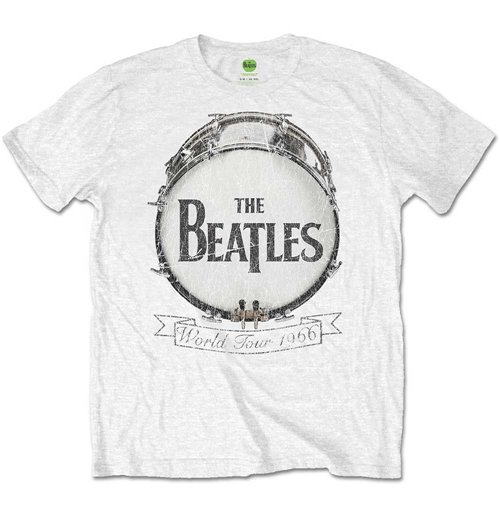 Camiseta Beatles de homem - Design: World Tour 1966