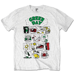 Camiseta Green Day Dookie RRHOF