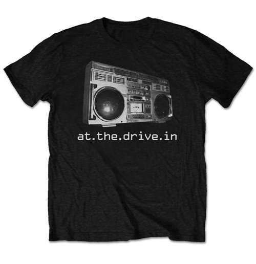 Camiseta At the drive-in Boom box