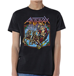Camiseta Anthrax de homem - Design: Christmas is Coming