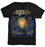 Camiseta Anthrax de homem - Design: For All Kings Cover