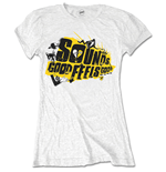 Camiseta 5 seconds of summer de mulher - Design: Sounds Good Album