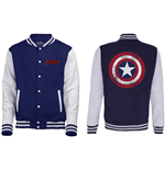 Jaqueta The Avengers Assemble - Distressed Shield